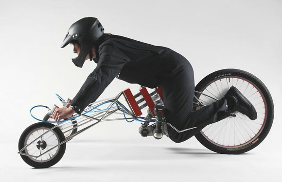 The EX by Nils Ferber – Severe Back Pain On 3 Wheels