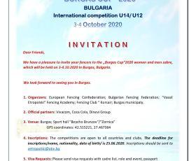 Купа Бургас международно състезание на сабя