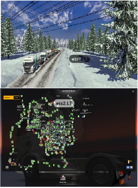 Mod Map Ets2 : Truckers