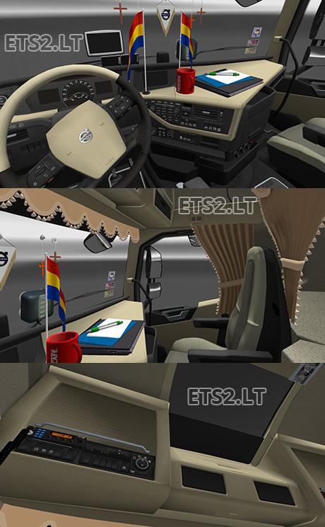 Mod Interior Bus Ets2 : interior, Volvo, Interior