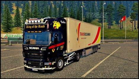 Scania Black King Skin