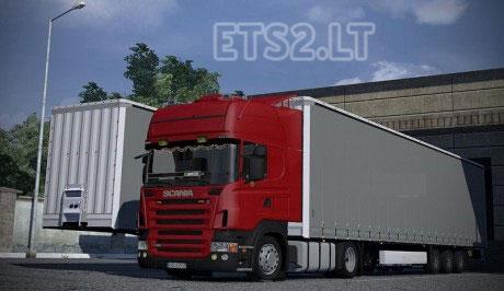Scania R420 & Krone Megaliner