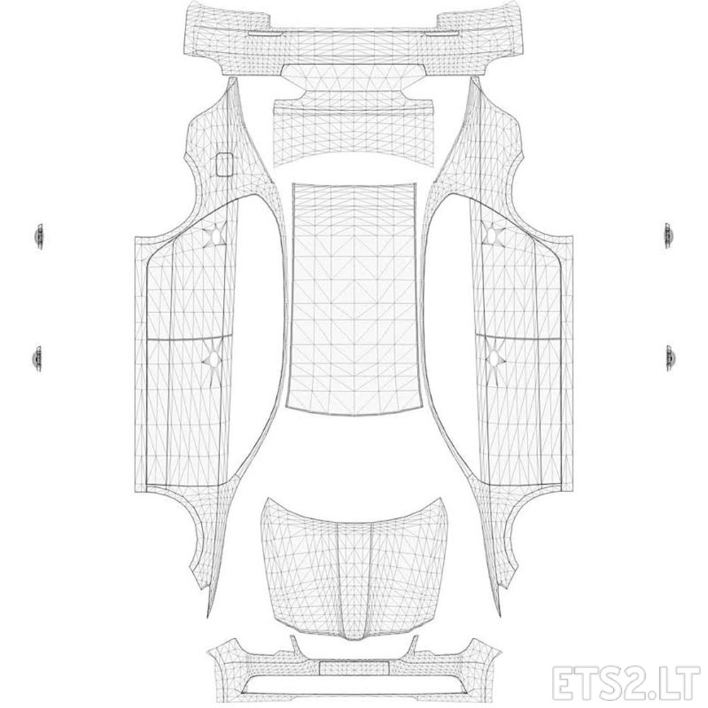 Template for SCOUT (Skoda Superb)