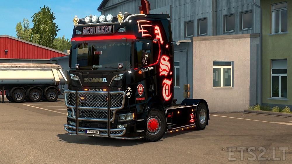 Scania New Generation Andreas Schubert Skin Ets 2 Mods