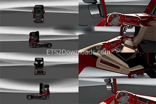 Scania-Red-Skin