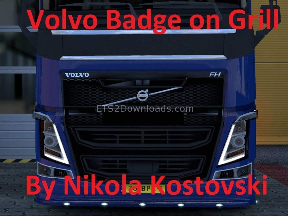badge-on-grill-for-volvo-v2-ets2