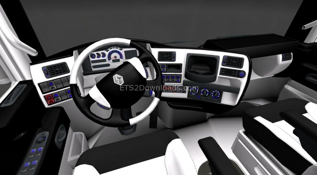 blackwhite-interior-for-renault-magnum-ets2