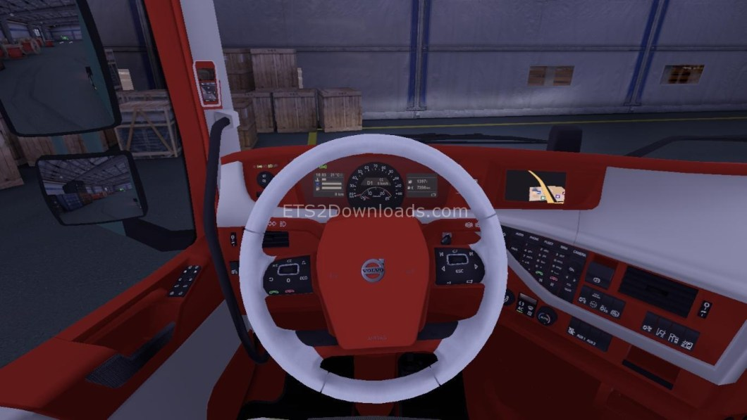 redwhite-interior-for-volvo-ets2
