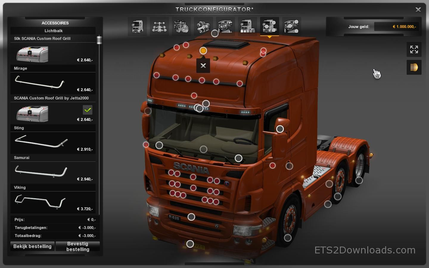 Euro Truck Simulator 2 - FH Tuning Pack Download