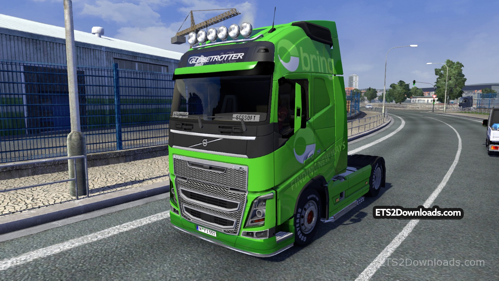 Bring Skin for Volvo - Euro Truck Simulator 2 Mods