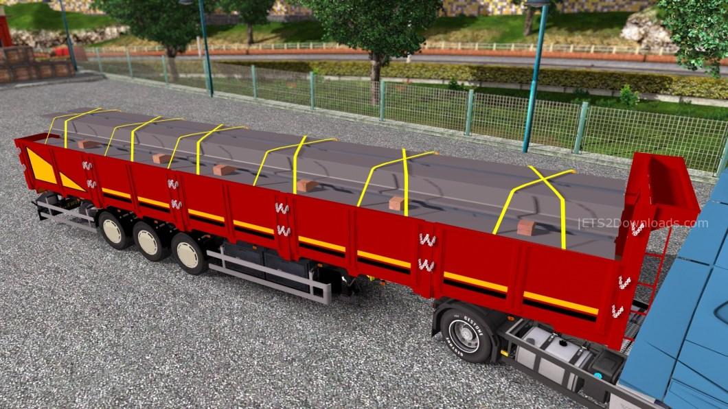 steel-beams-trailer