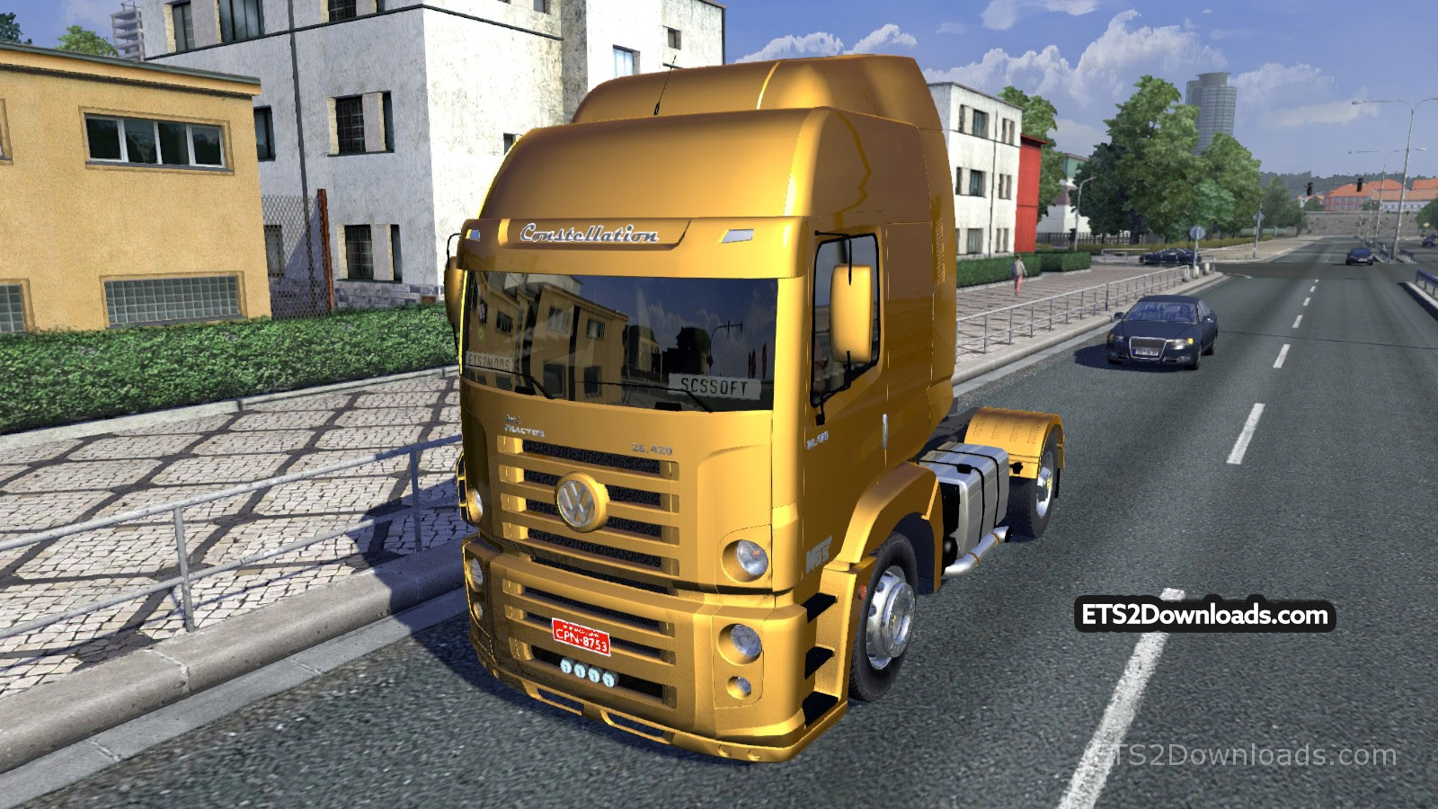 Volkswagen Constellation V5 0 Ets2 Mods