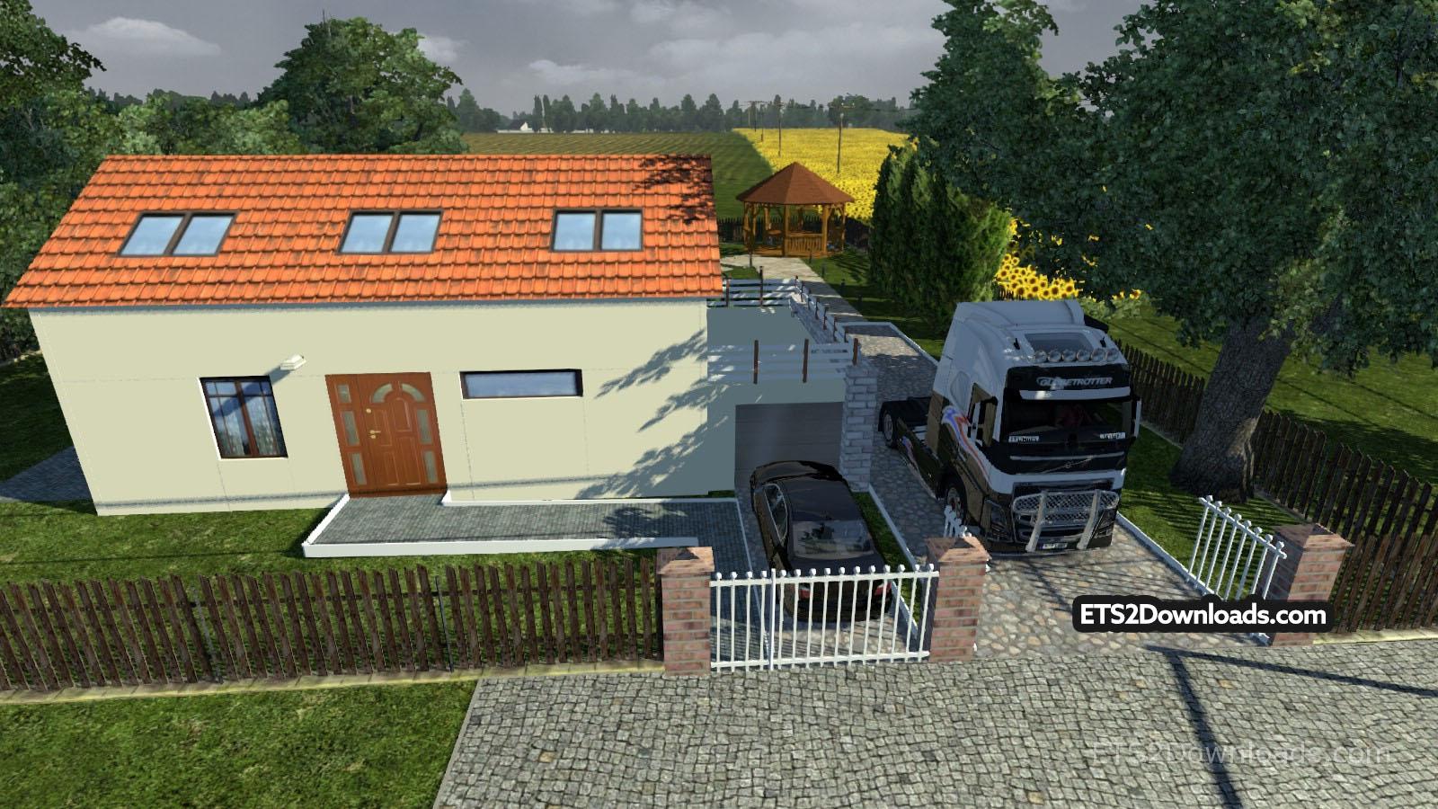 Home Sweet Home Euro Truck Simulator 2 Mods
