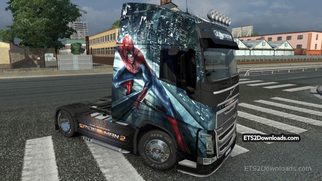 amazing-spiderman-2-skin-for-volvo-fh-2012
