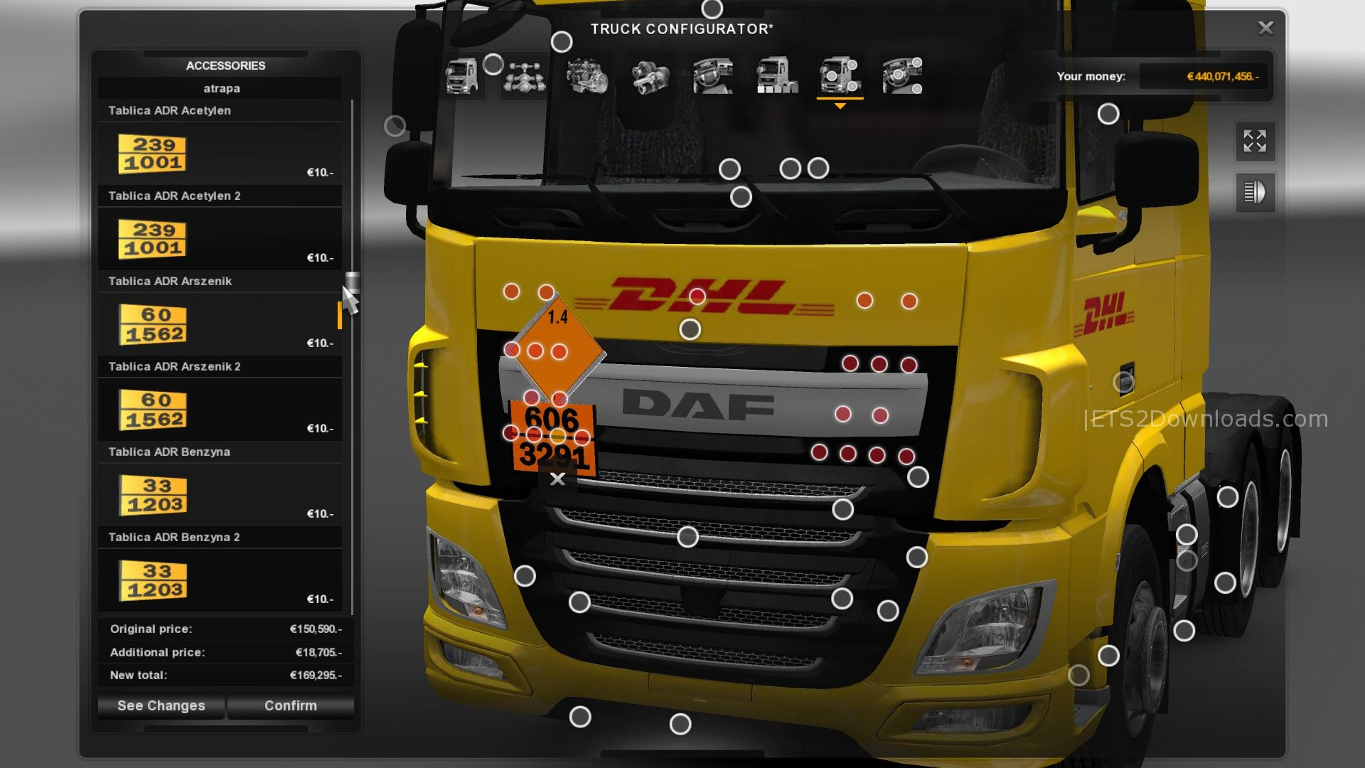 DAF XF Euro 6 by Taina95 v1 3 - ETS2 Mods