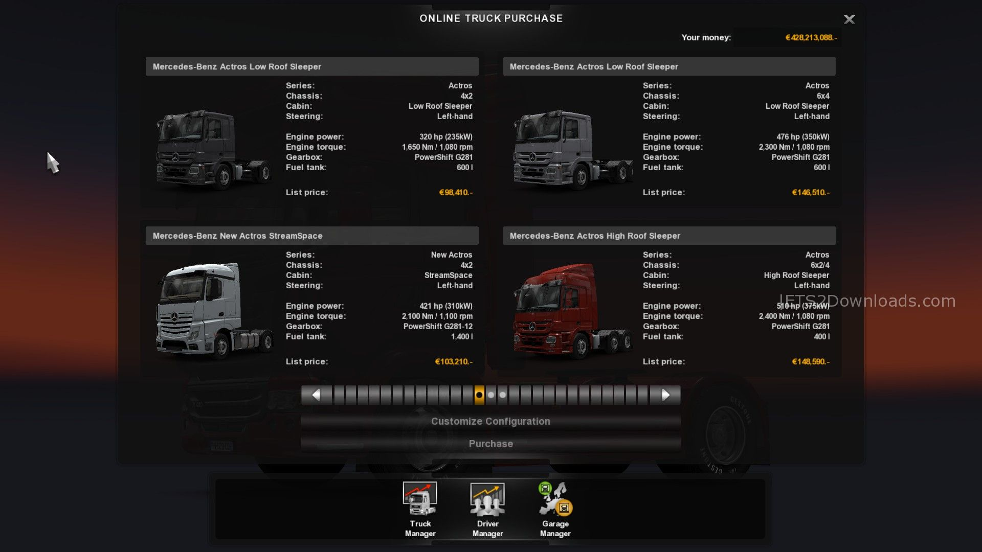 Euro Truck Simulator 2 V1 18 Update With Mercedes Benz Actros Ets2