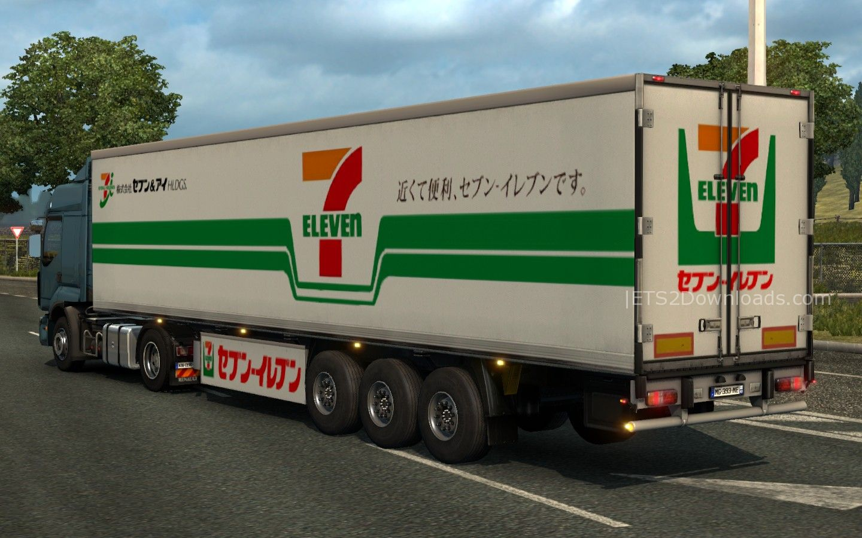 Japanese Traffic Trailer Pack - ETS2 Mods