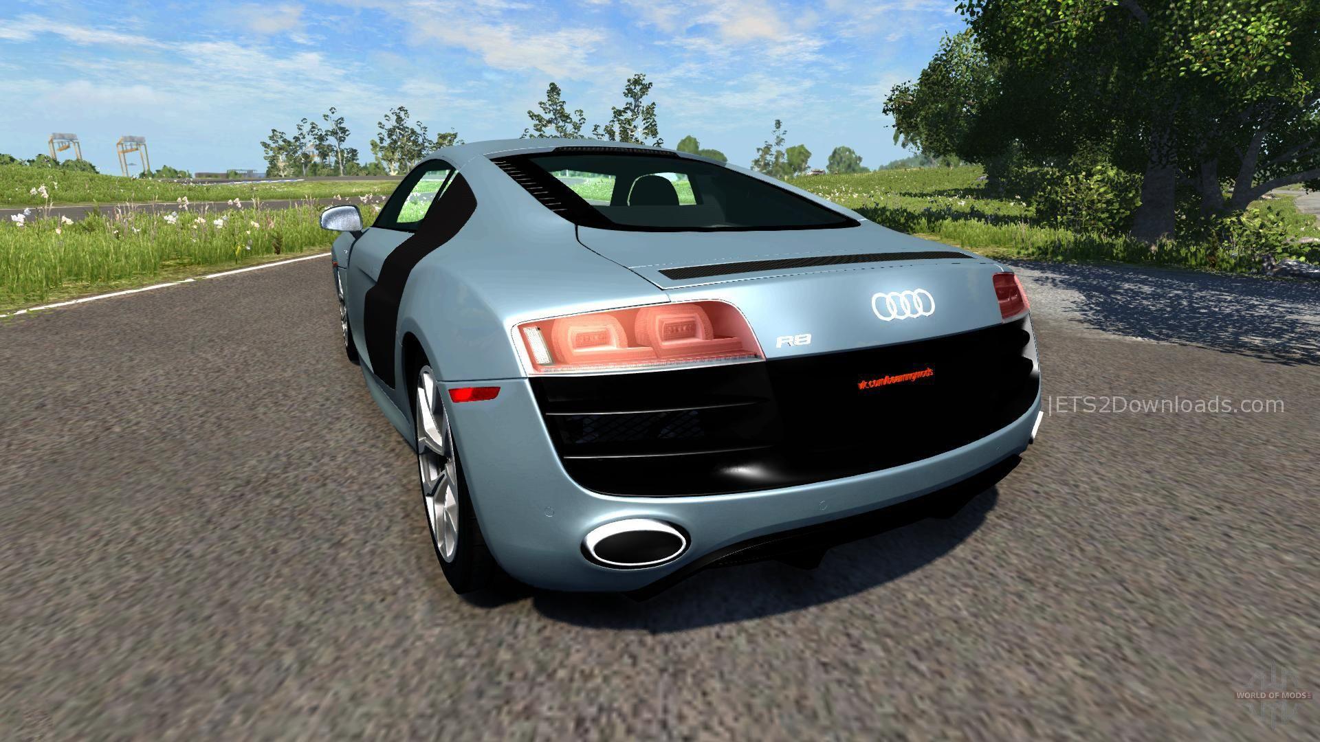 Audi R8 v10 ETS2 - ETS2 Mods