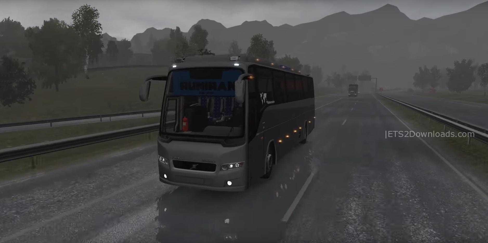Bus Runiran Volvo B9R I Shift 1 27 x - ETS2 Mods