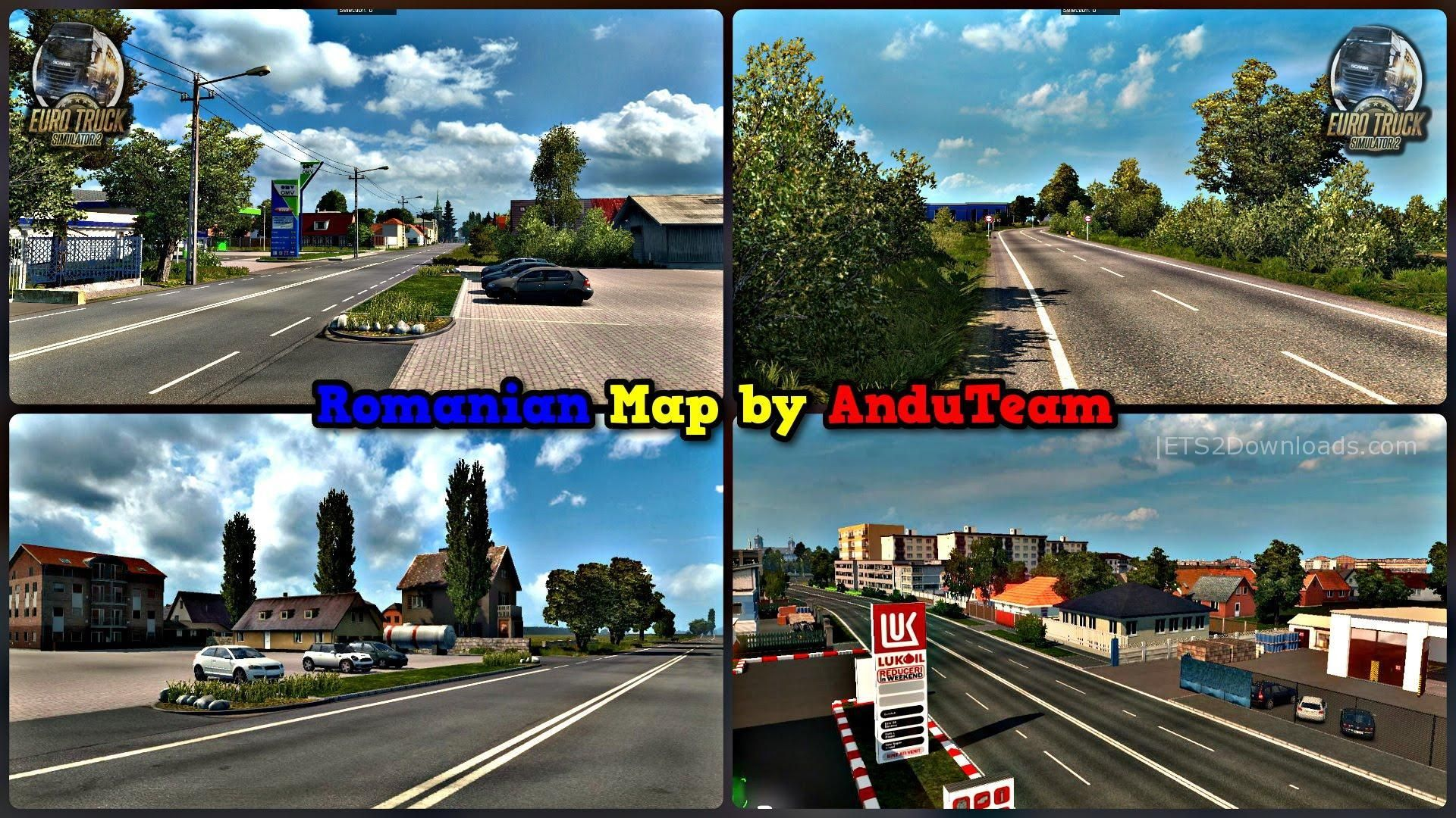 Romania Map v1 3 1a - ETS2 Mods