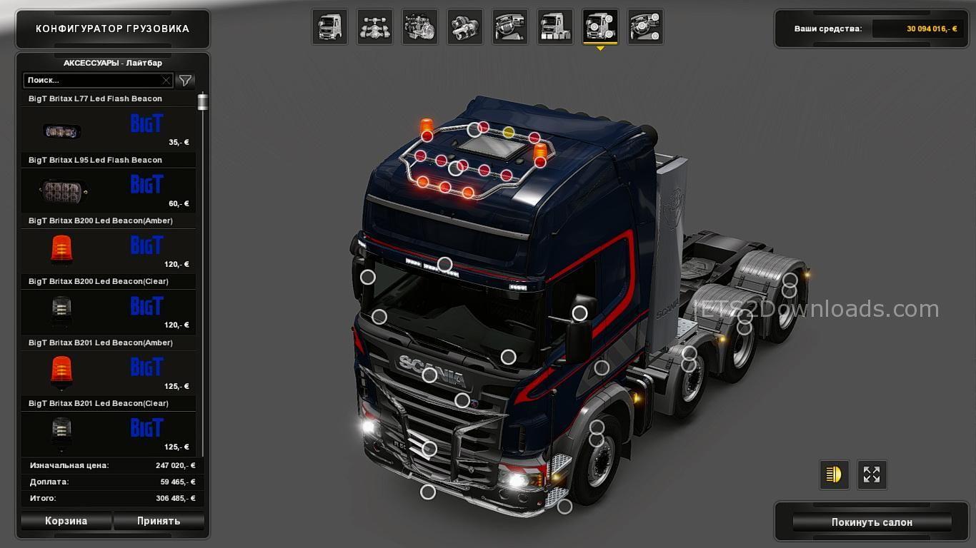 Bigt Britax Led Beacons Pack Ets2 Mods