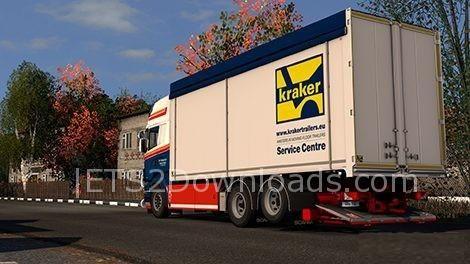 Verwonderlijk Kraker Tandem Addon For RJL Scania RS & R4 By Kast v1.3 - ETS2 Mods TC-07