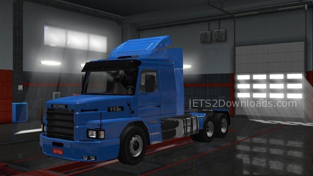 Volvo Truck Dealer >> Scania 113 v4.0 - ETS2 Mods
