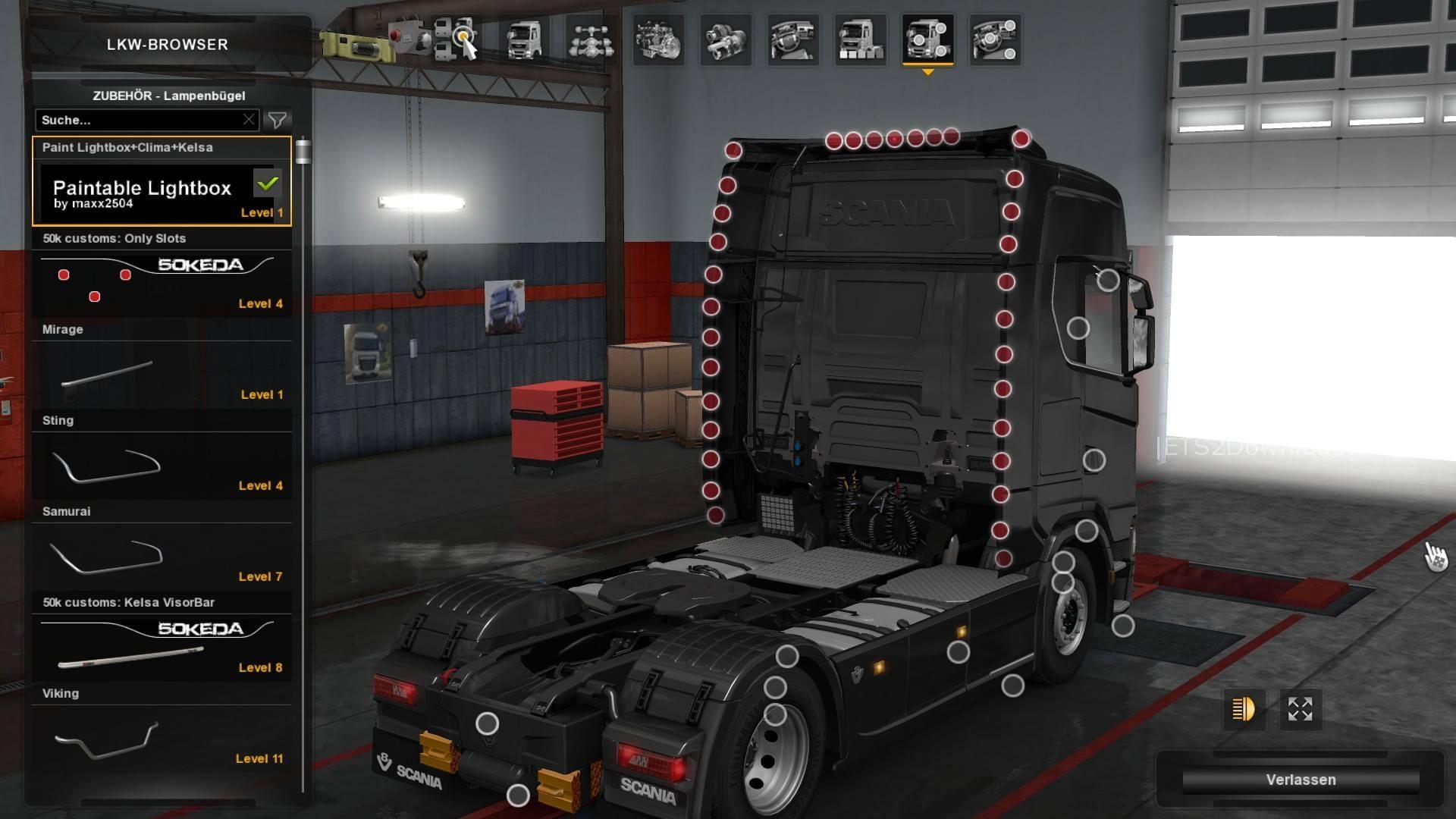 Scania NextGen Addons By SMG - ETS2 Mods