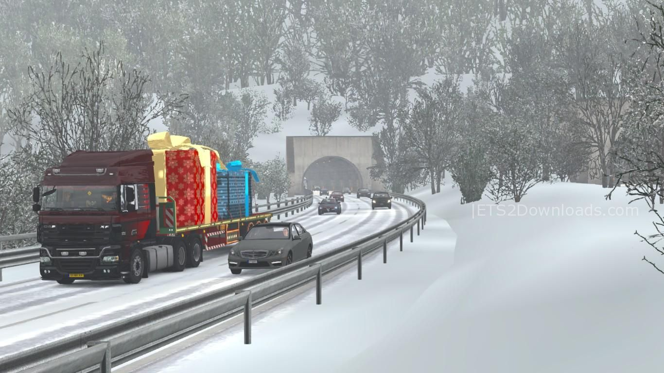 Winter Add-On for Realistic Graphics Mod Release v1 0 - ETS2