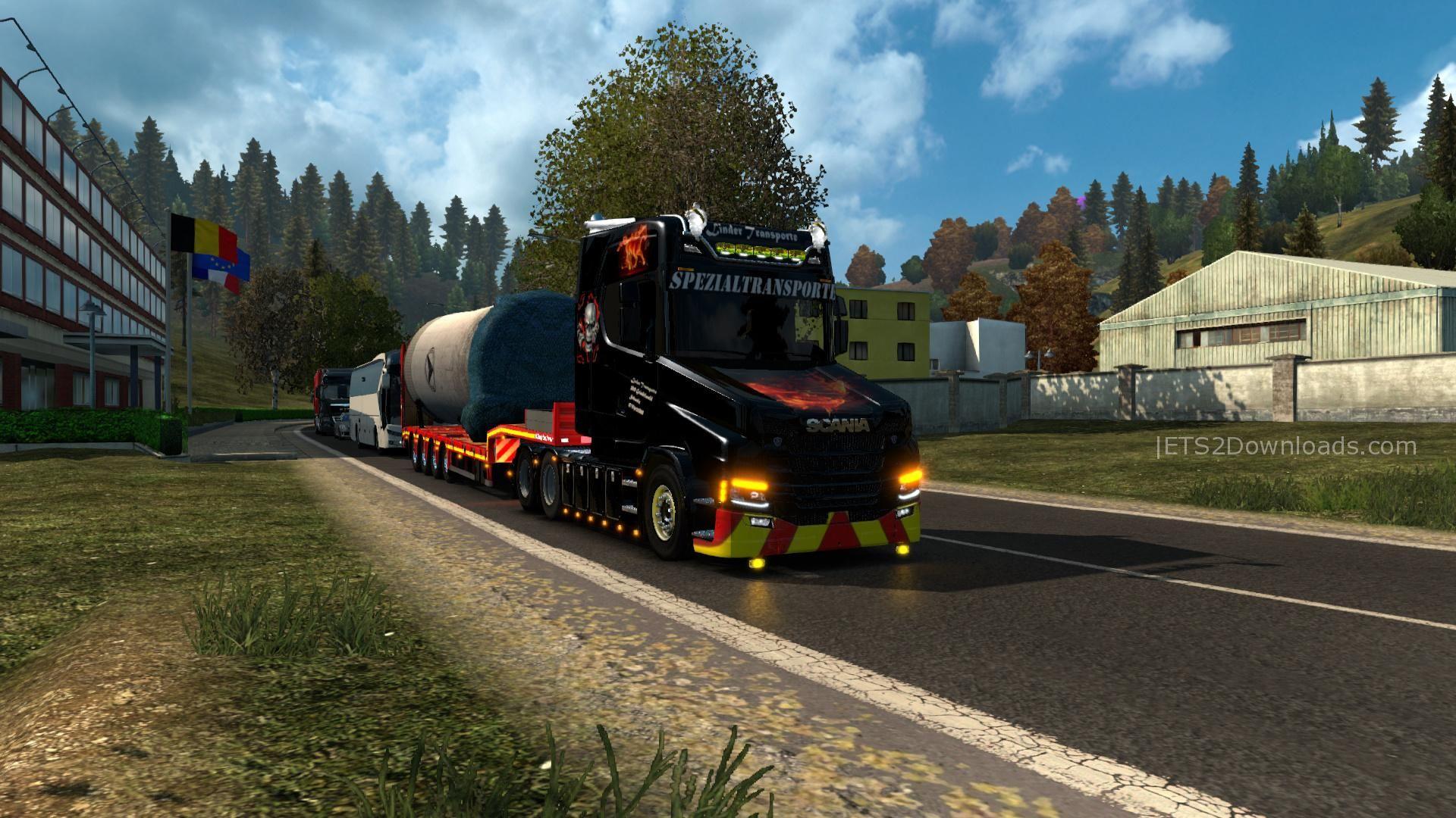 Scania S Torpedo V8 - Ets2 Mods-9597
