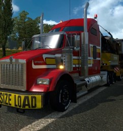 the kenworth t800 n truck with appropriate tuning parts hood was rebuilt and remodelled to match real truck as closely as possible 3 cabs for now  [ 1280 x 720 Pixel ]