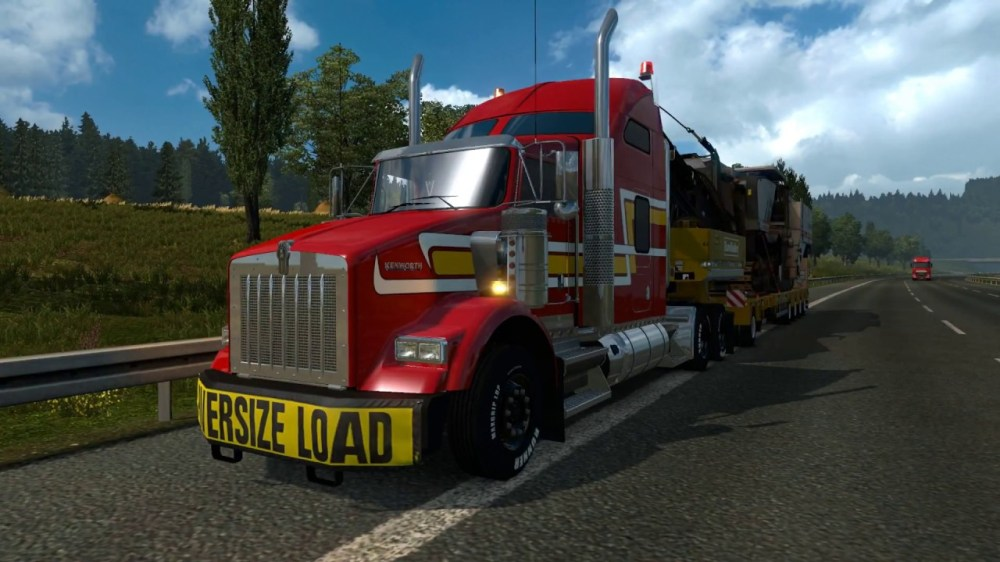 medium resolution of the kenworth t800 n truck with appropriate tuning parts hood was rebuilt and remodelled to match real truck as closely as possible 3 cabs for now