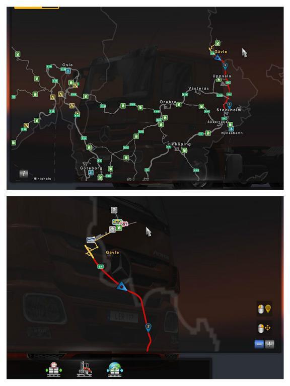 Mod Map Ets2 : SCANDINAVIA, REBUILDING, V1.0.0, Truck, Simulator, American