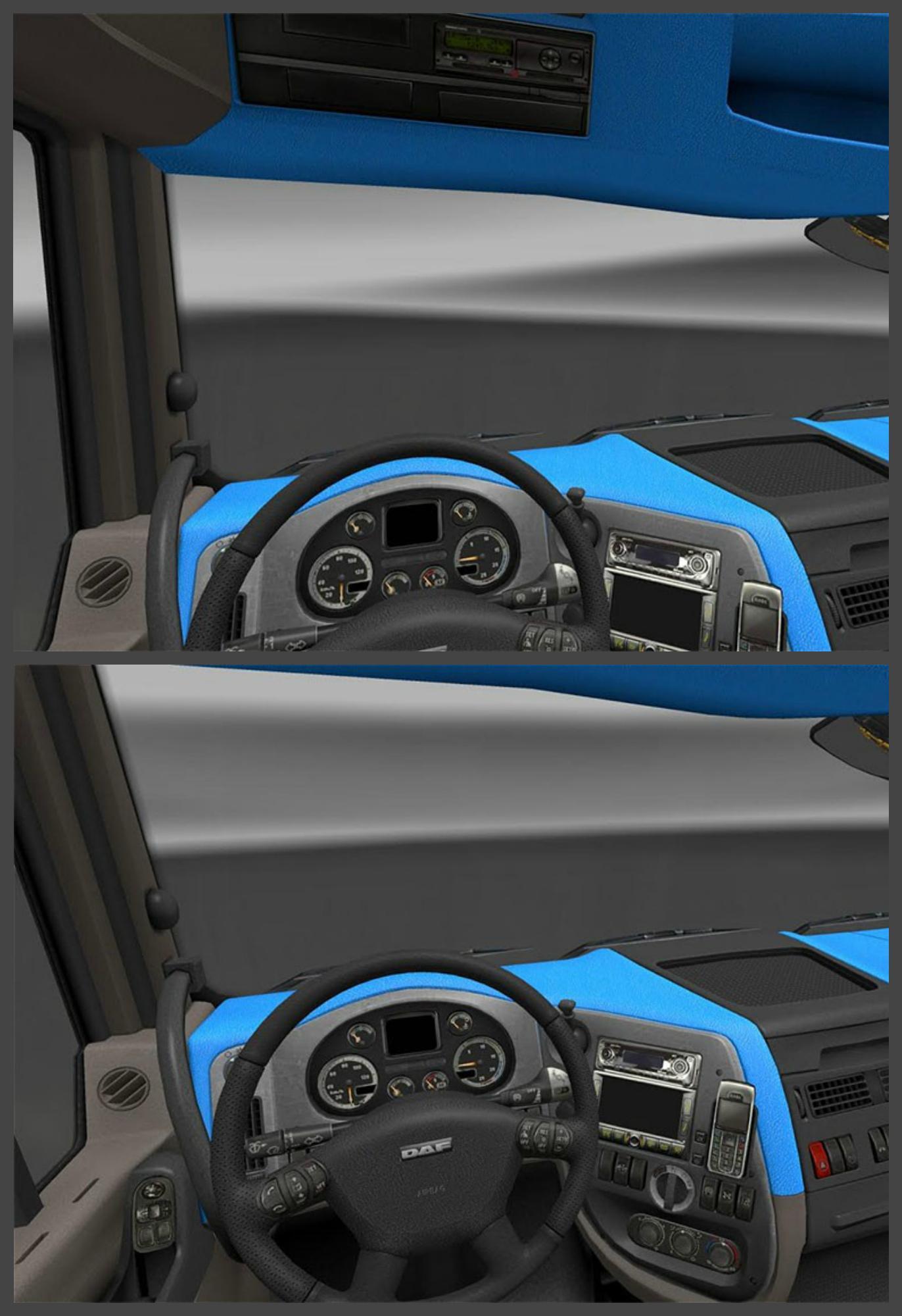 Mod Interior Bus Ets2 : interior, INTERIOR, Truck, Simulator, American