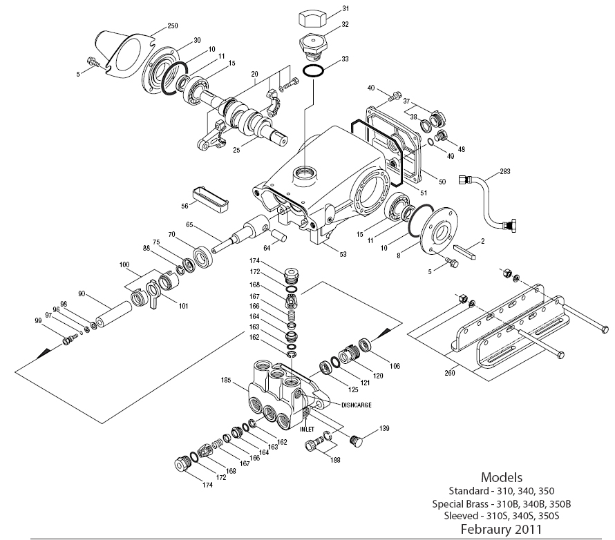 Annovi Reverberi Pump Parts Diagram Within Diagram Wiring