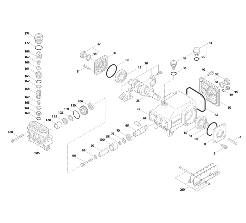 cat pumps 3dx29gsi parts diagram t1 wiring rj45 plunger pump golfclub 5cp4120css 5cp ets company