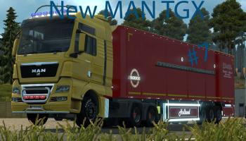 New MAN TGX Modified | ETS2 Mods