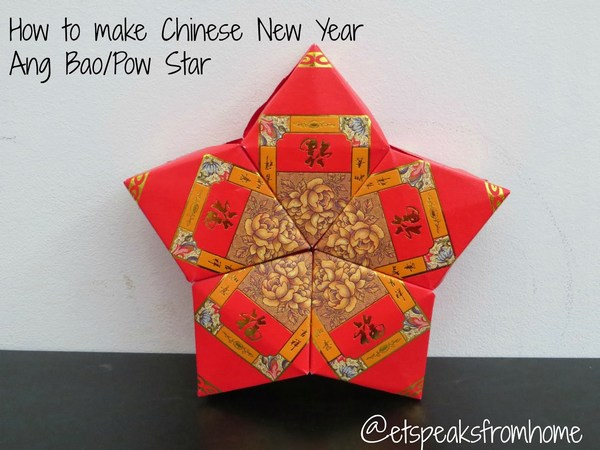 Chinese New Year Ang Bao Pow Star Craft