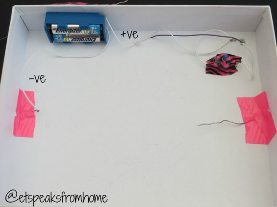 Buzz Wire Game Circuit