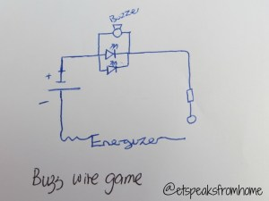 Buzz Wire Game #Shop with Energizer Batteries  ET Speaks