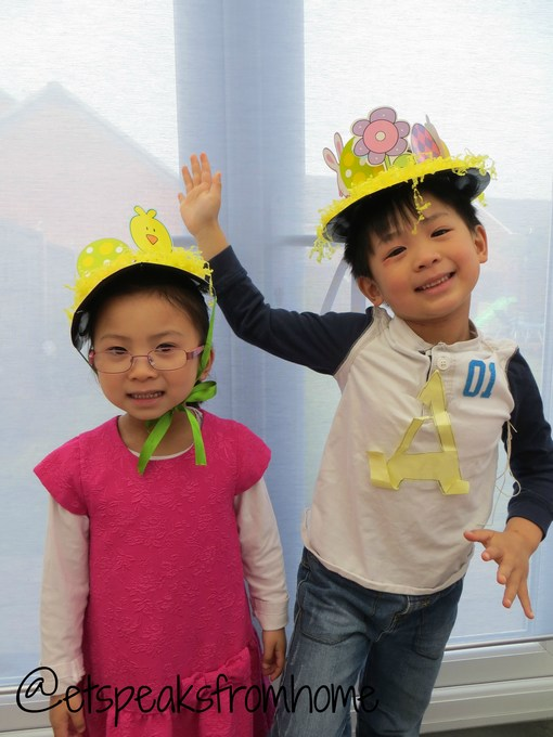 Easter Bonnet Hats  sc 1 st  ET Speaks From Home & How to make an Easter Bonnet Hat using Paper Plate - ET Speaks From Home