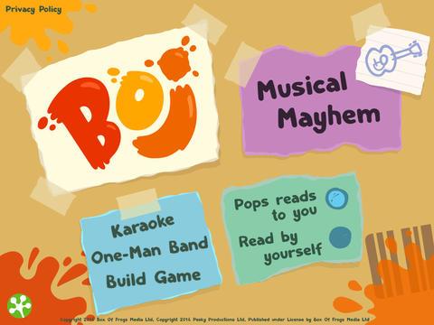boj musical mayham