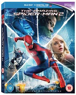 spiderman DVD blu-ray