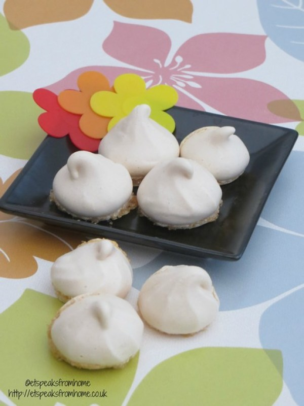 Almond Meringue Cookies
