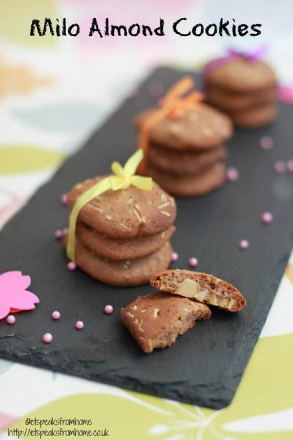 milo almond cookies recipe