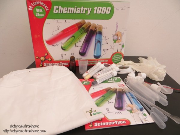 science4you chemistry 1000 review