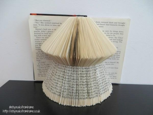 book folding book art animal