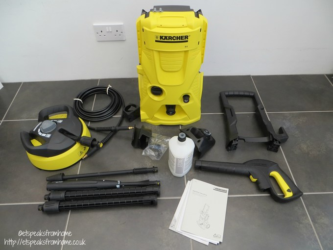 how to use karcher plug and clean