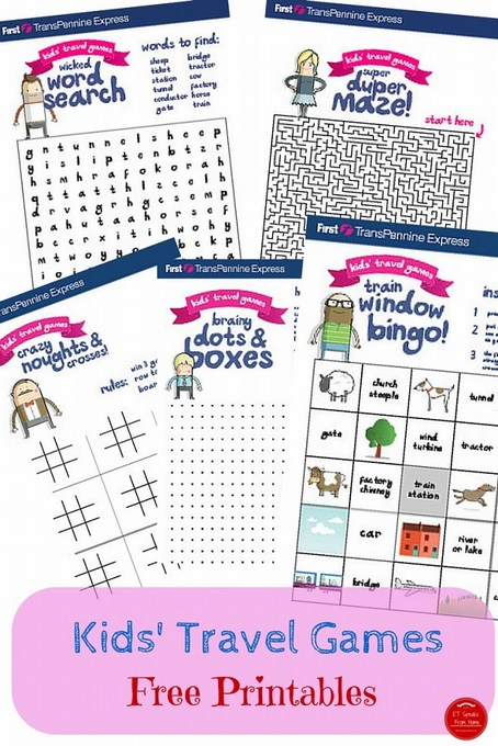 photo about Printable Kids Game called Totally free Printable Youngsters Drive Game titles - ET Speaks In opposition to House