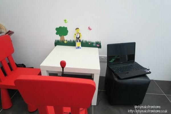 HUE Animation studio set up